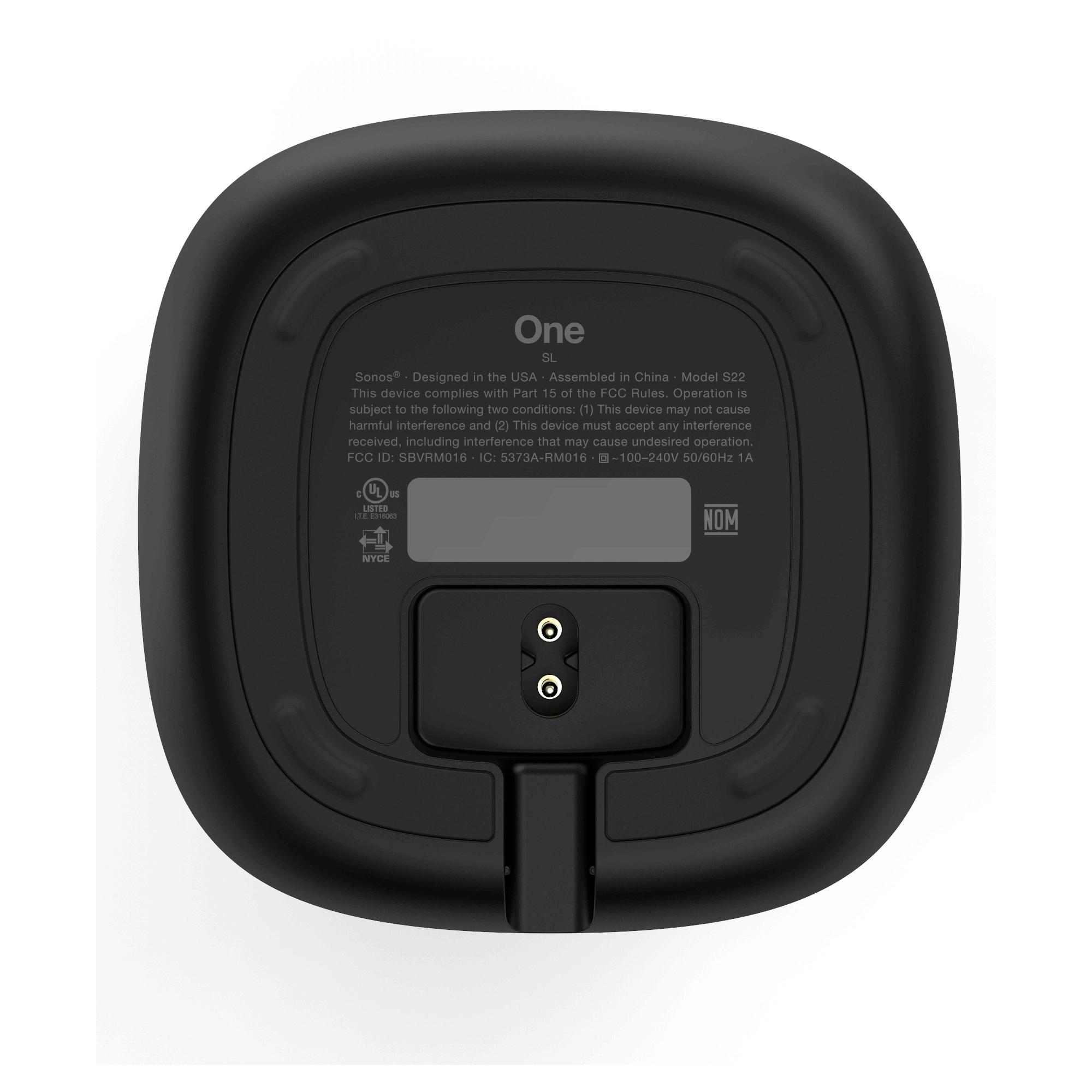 Sonos One SL Smart Speaker - Black
