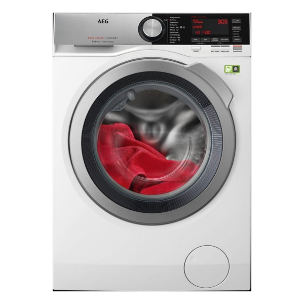 Cheapest price of AEG L8FEC946R 8000 Series 9Kg Load with Energy Rating and 1400rpm in White in new is £838.00