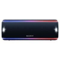 SRSXB31B Portable Wireless Waterproof Speaker with Lighting Effects in Black