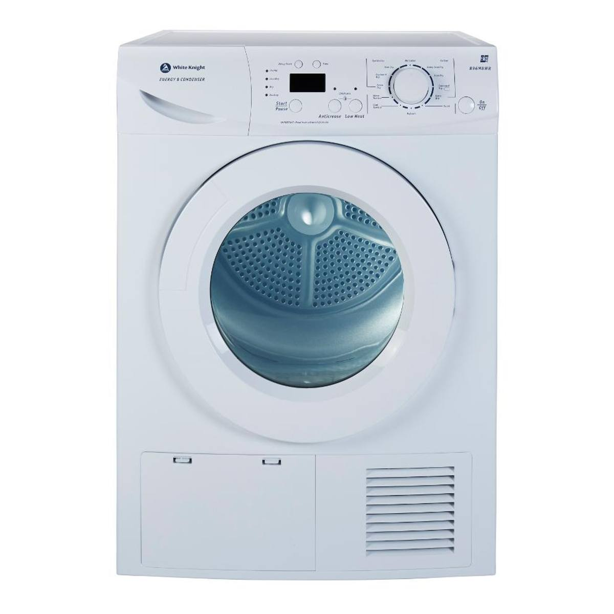 White Knight B96m8wr 8kg Condenser Tumble Dryer White