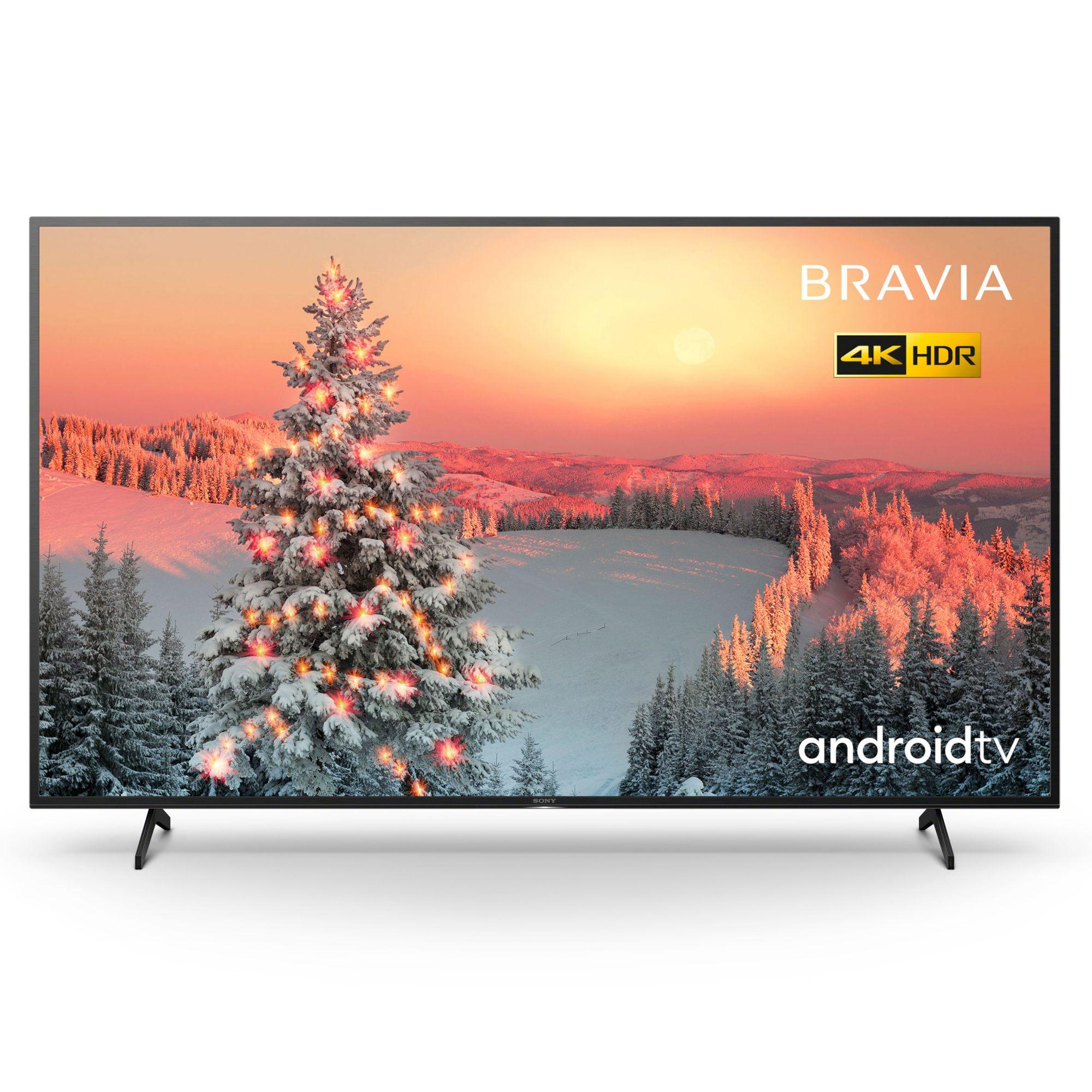 "Sony Bravia KD75XH8096BU 75"" LED 4K HDR Android TV"