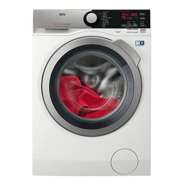 Compare cheap offers & prices of AEG L7FEE845R Freestanding Washing Machine with 8Kg Load Capacity and Energy Rating manufactured by AEG