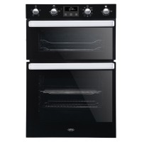 BI902MFCTBLK 110L Built-In Electric Double Oven