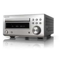 RCD-M41DAB Silver Micro HiFi CD Receiver - Bluetooth
