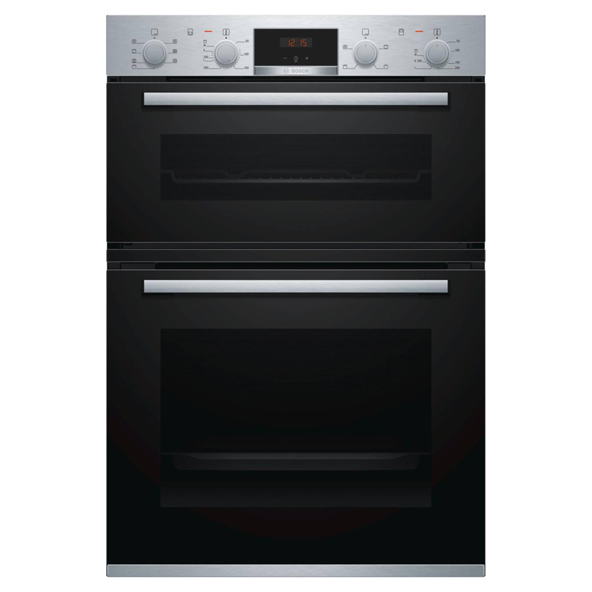 Bosch Serie 4 MBS533BS0B 105L Electric Built-In Double Oven
