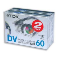 60 Minute DVC Cassette Twin Pack