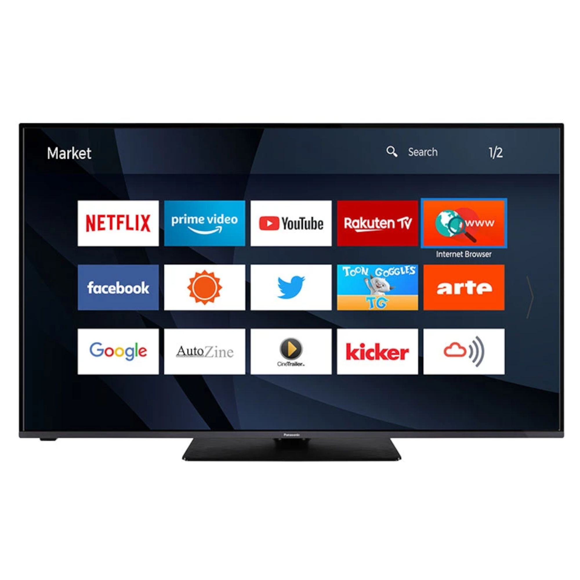 "Panasonic TX43HX580B 43"" Smart 4K Ultra HD HDR LED TV"