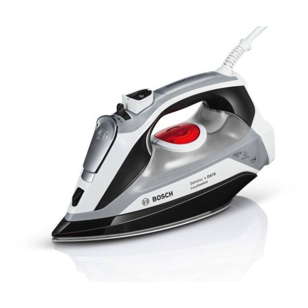Compare cheap offers & prices of Bosch TDA70EYGB EasyComfort Steam Iron with 2400W Power and 380ML Water Tank Capacity manufactured by Bosch