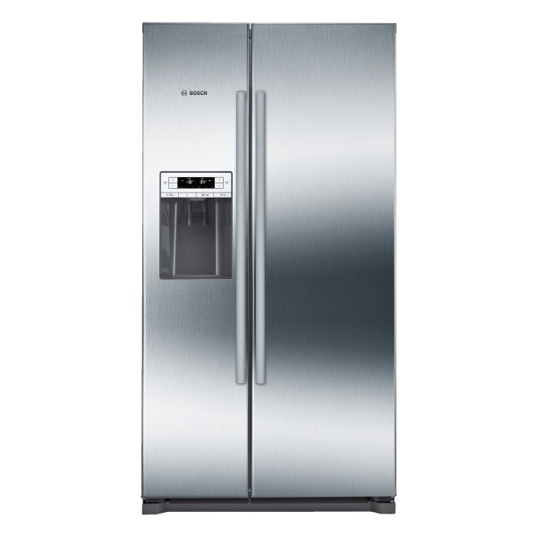 Compare cheap offers & prices of Bosch KAI90VI20G Fridge Freezer with 523L Capacity and Energy Rating in Steel manufactured by Bosch