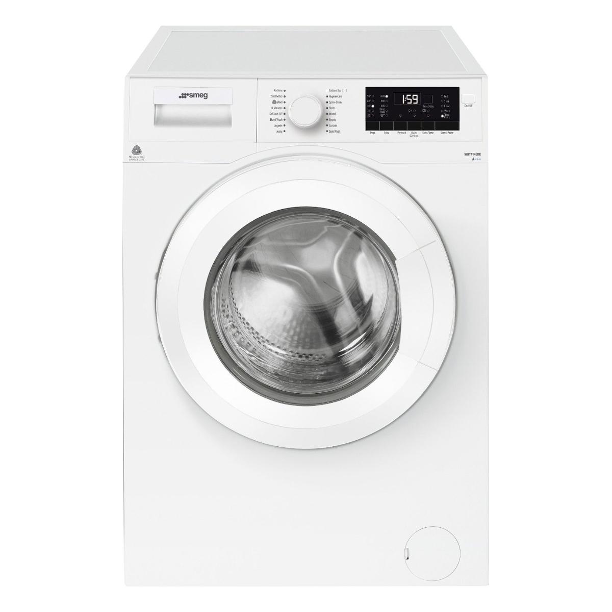 Smeg Wht714euk 7kg Load Washing Machine White Hughes