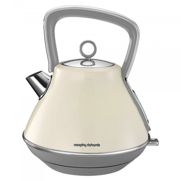 Compare retail prices of 100107 1.5L Evoke Pyramid Kettle - Cream to get the best deal online
