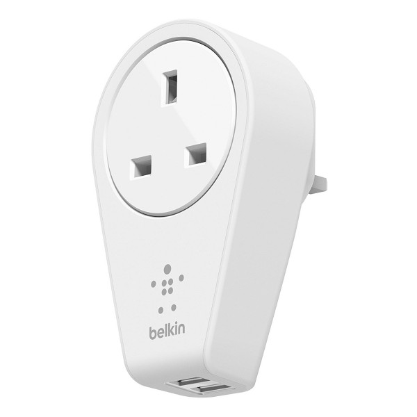 Compare cheap offers & prices of Belkin F8M102AF Rotating Dual USB Mains Charger in White manufactured by Belkin