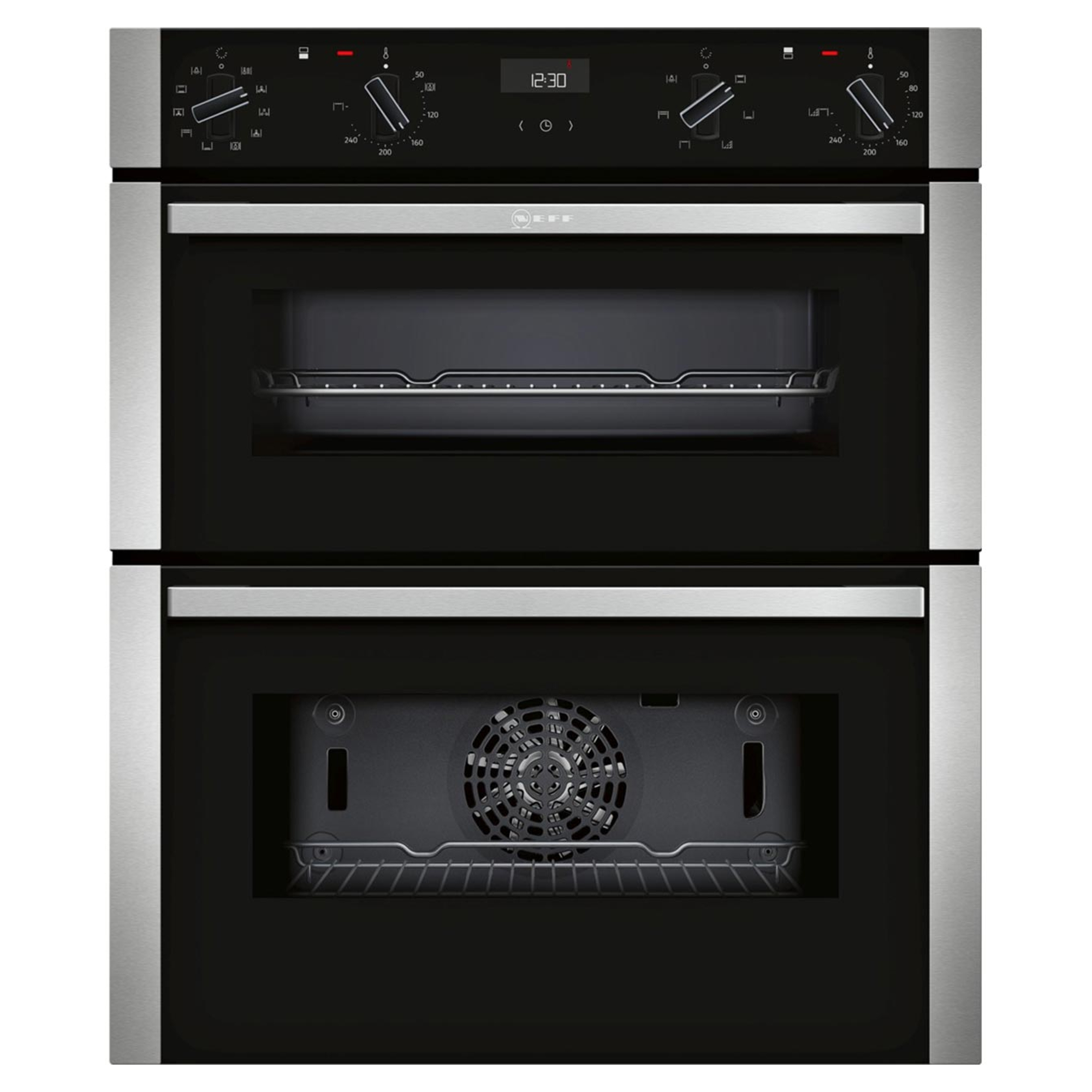 Neff N 50 J1ace4hn0b Built Under Double Oven With Grill