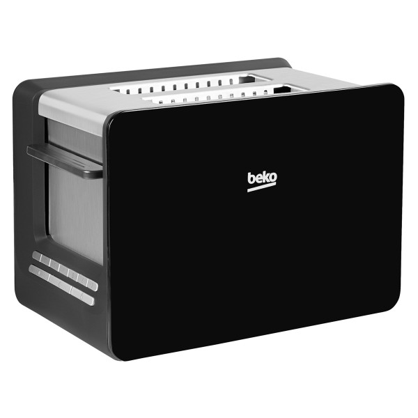 Compare cheap offers & prices of Beko TAM6202 2 slice toaster with warming rack attachment in Black manufactured by Beko