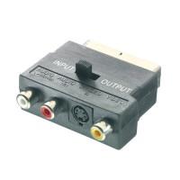 Vivanco 42048 S-VHS Adapter Mini DIN to Scart