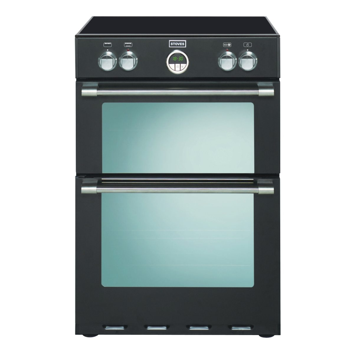 Stoves Ster600mftiblk 600mm Electric Double Oven