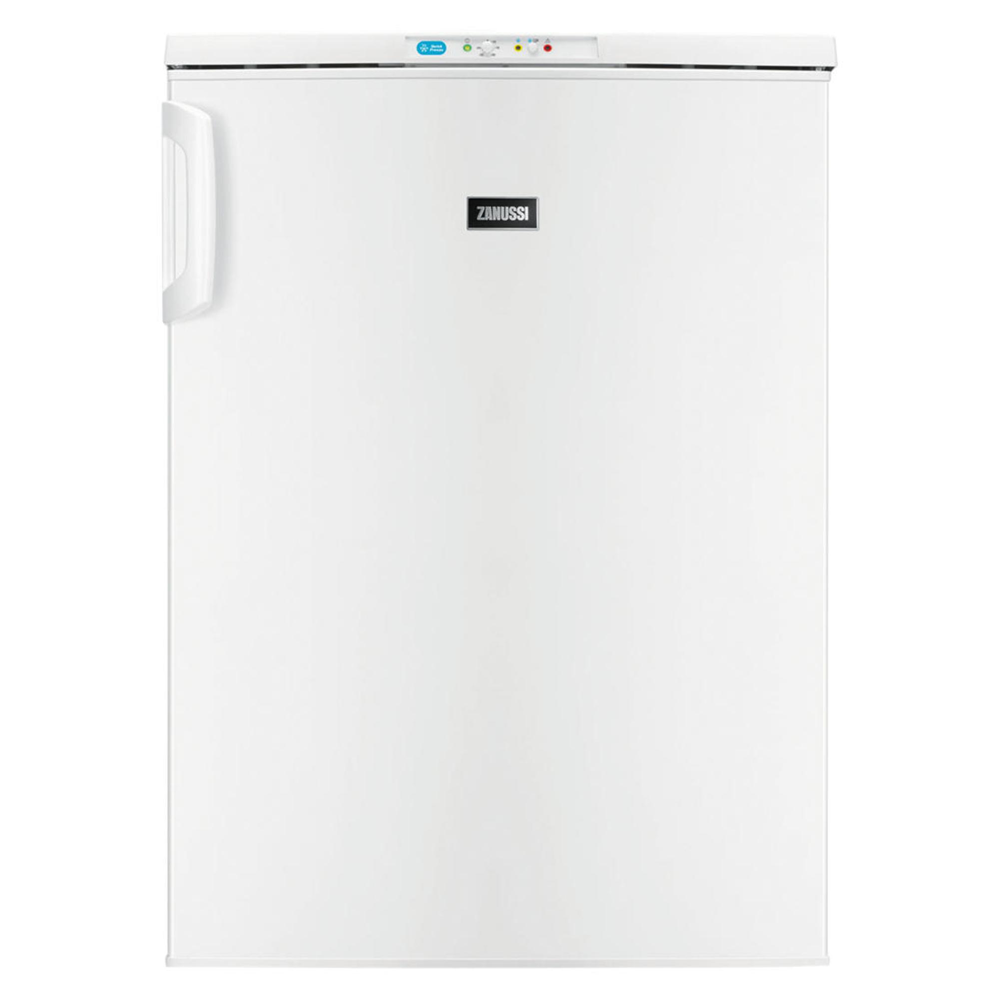 Zanussi Zft10210wv Frost Free 78l Under Counter Freezer