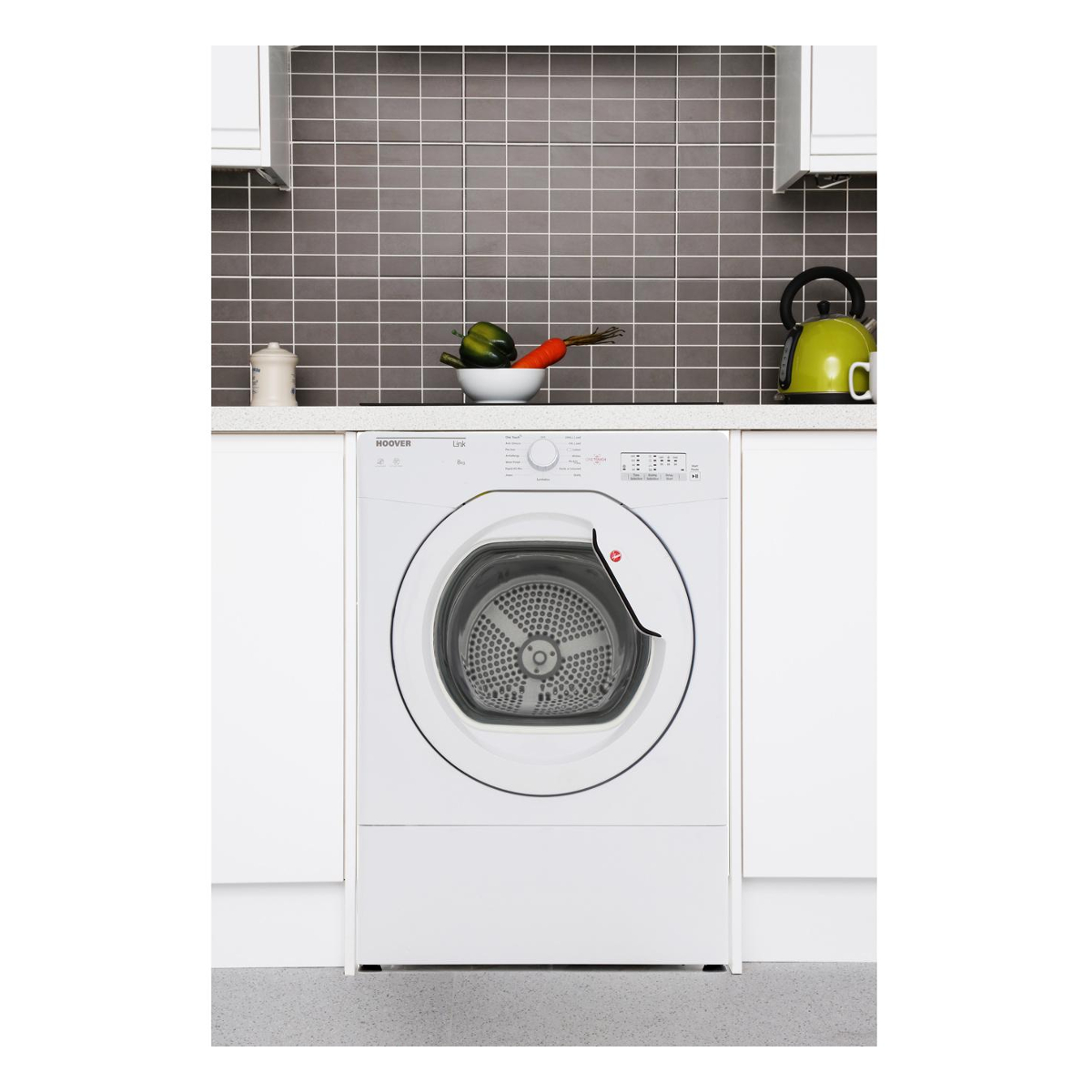 Hoover HLV8LG One Touch 8kg Load Vented Tumble Dryer