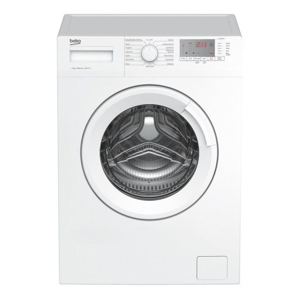 Compare prices for Beko WTG741M1W Freestanding Washing Machine with 7KG Load Capacity and 1400rpm Spin Speed