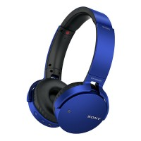 MDRXB650BTL Extra Bass Bluetooth over Ear Headphones Blue
