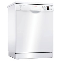 Image of BOSCH Serie 2 ActiveWater SMS25EW00G Full-size Dishwasher - White, White