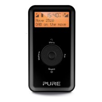 MOVE 2520 Rechargeable Personal Digital DAB/FM Radio with 20 Pre-sets in Black