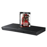 UBDM7500 Smart 4K Ultra HD Blu-Ray Player in Black