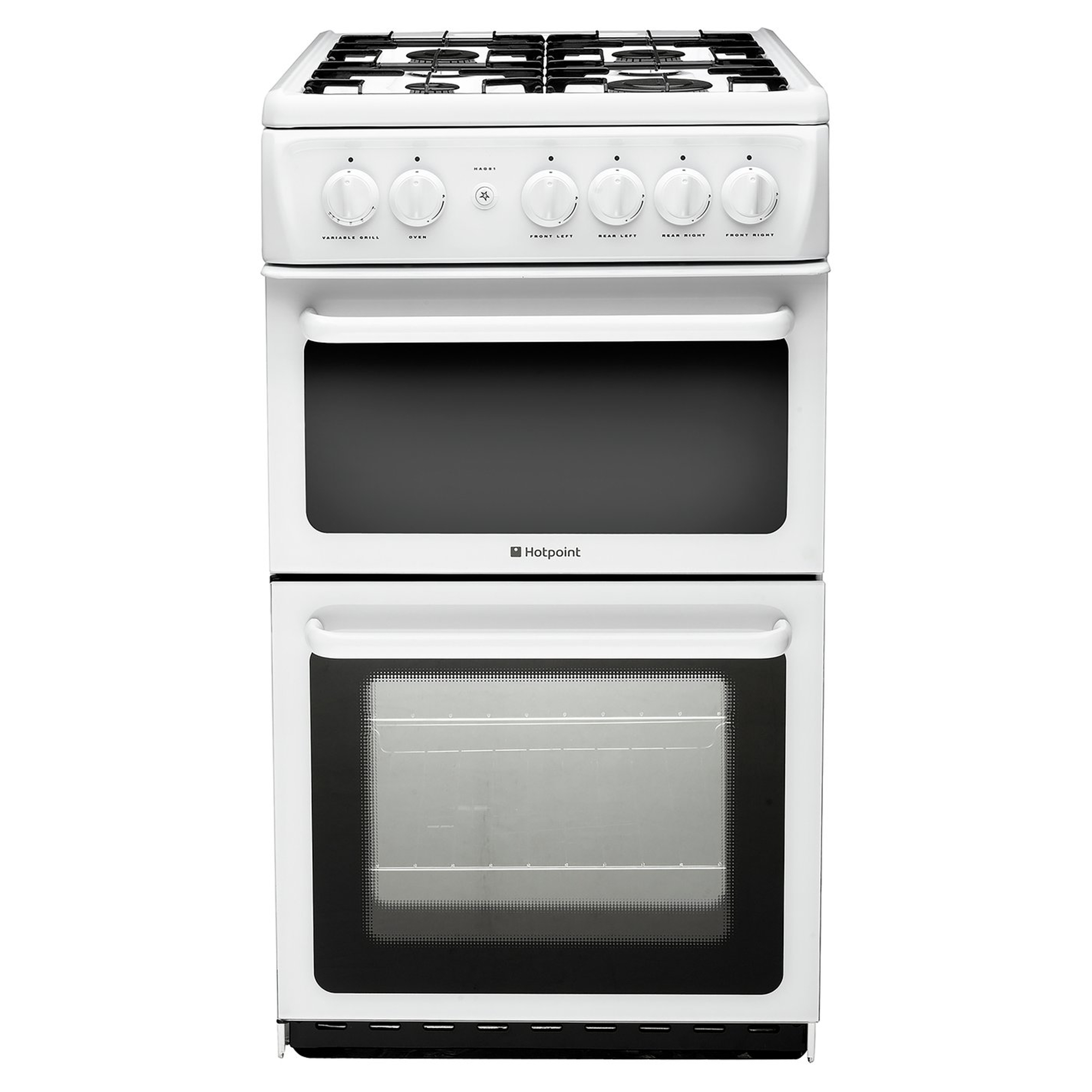Hotpoint Hd5g00kcwuk A Rated 500mm Gas Cooker White Hughes