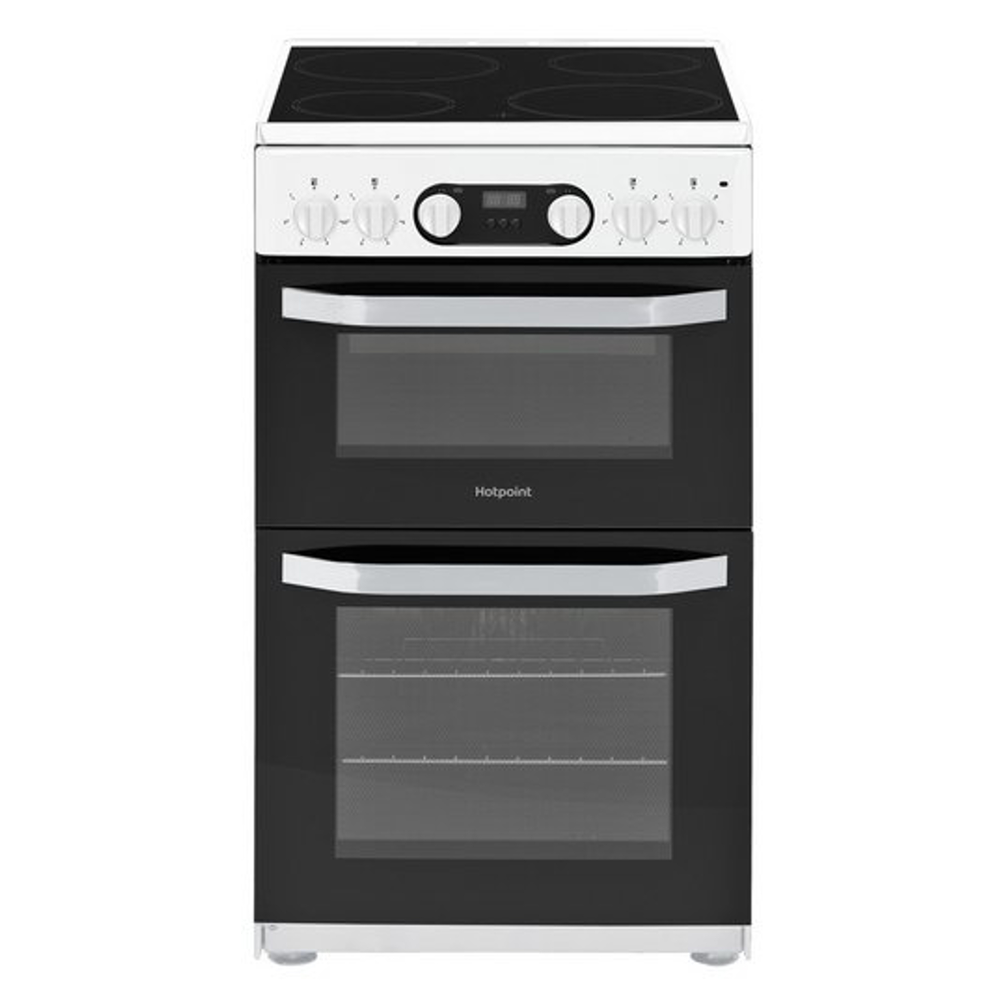 Hotpoint Hd5v93ccwuk Electric Cooker With Ceramic Hob Hughes
