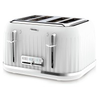 Breville Impressions Collection VTT470 4 Slice Toaster - White