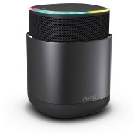 Discover Bluetooth Wireless Portable Alexa Smart Speaker with Internet Radio and Enhanced Privacy